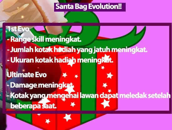Santa Bag Evolution Lost Saga Indonesia