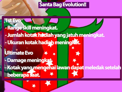 Santa Bag Evolution Lost Saga Indonesia