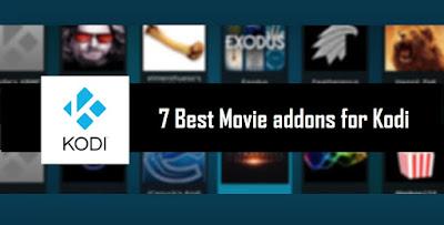 7 Best Movie addons for Kodi