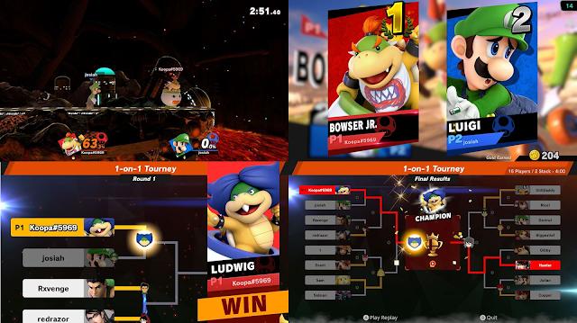 Super Smash Bros. Ultimate character alt glitch Ludwig Von Koopa Bowser Jr.