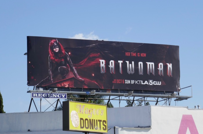 Batwoman series launch billboard