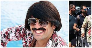 O Τόνι Σφήνος χωρίς περούκα σε ρομαντικές διακοπές με τη σύζυγό του!