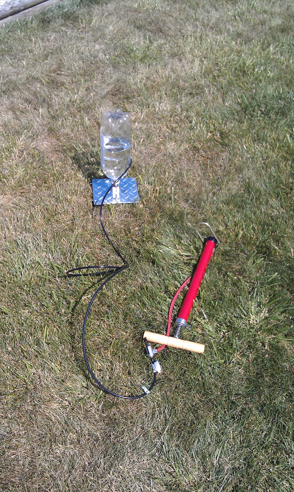 Simple Bottle Rocket Diagram Flying Model Rockets Is A