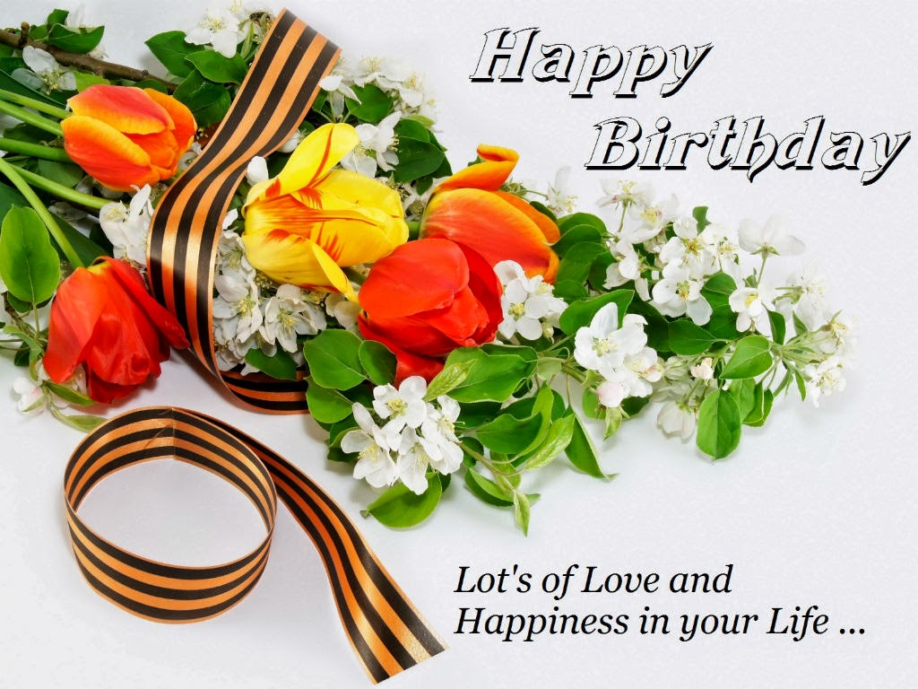 Happy Birthday Flowers Pic HD