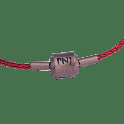 Lắc tay Vàng 24K PNJ Tỳ hưu chữ Lộc dây màu đỏ