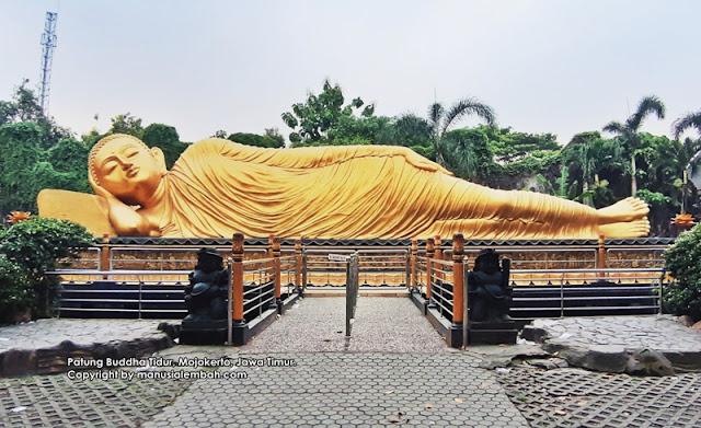 Patung Buddha Tidur Mojokerto