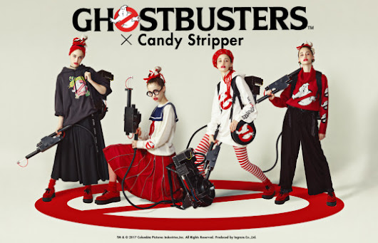 Ghostbusters x Candy Stripper