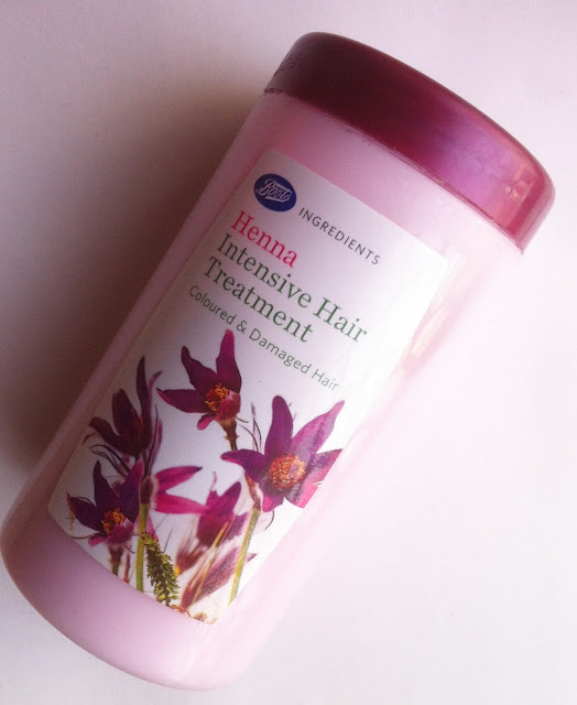 Boots Ingredients Henna Intensive Hair Treatment Review and Pictures
