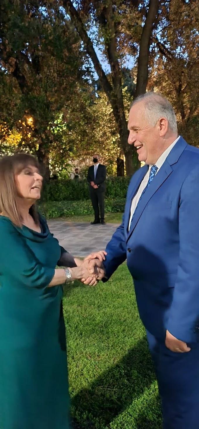 Προσκεκλημένος της Προέδρου της Δημοκρατίας ο Γιώργος Τσιακίρης