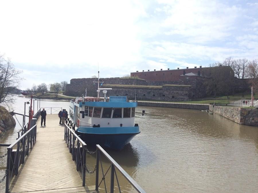 水上バス「Suomenlinna Centre」埠頭