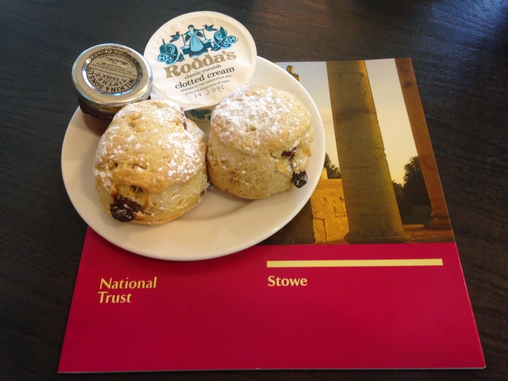 Stowe Scones National Trust