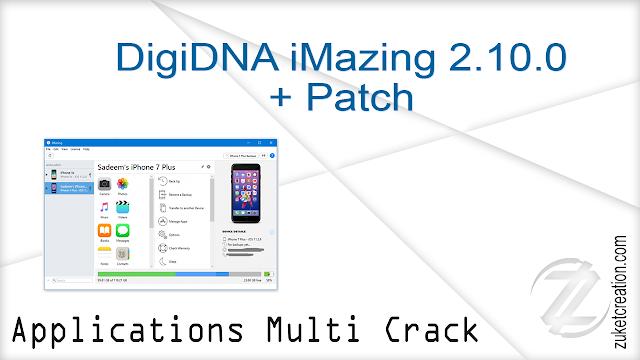 DigiDNA iMazing 2.10.0 + Patch