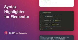 Download Free Coder v1.0.0 For Elementor