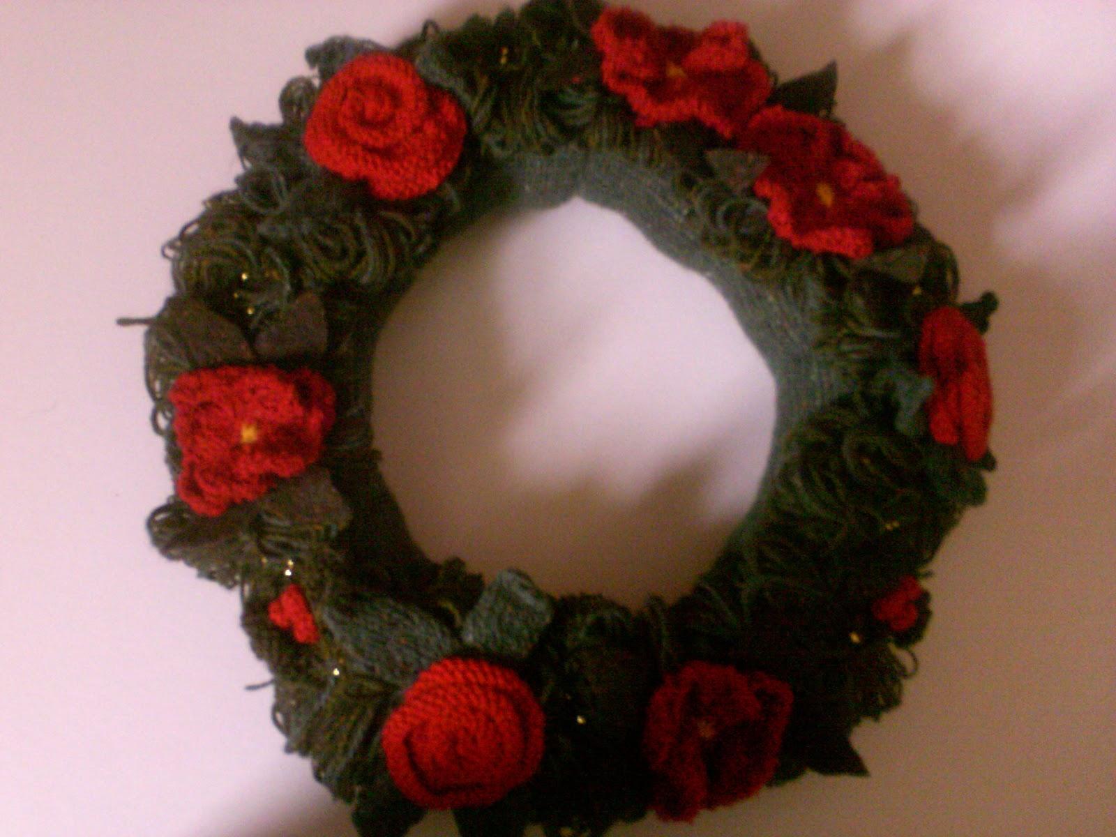 Maud Tabron Christmas Wreath