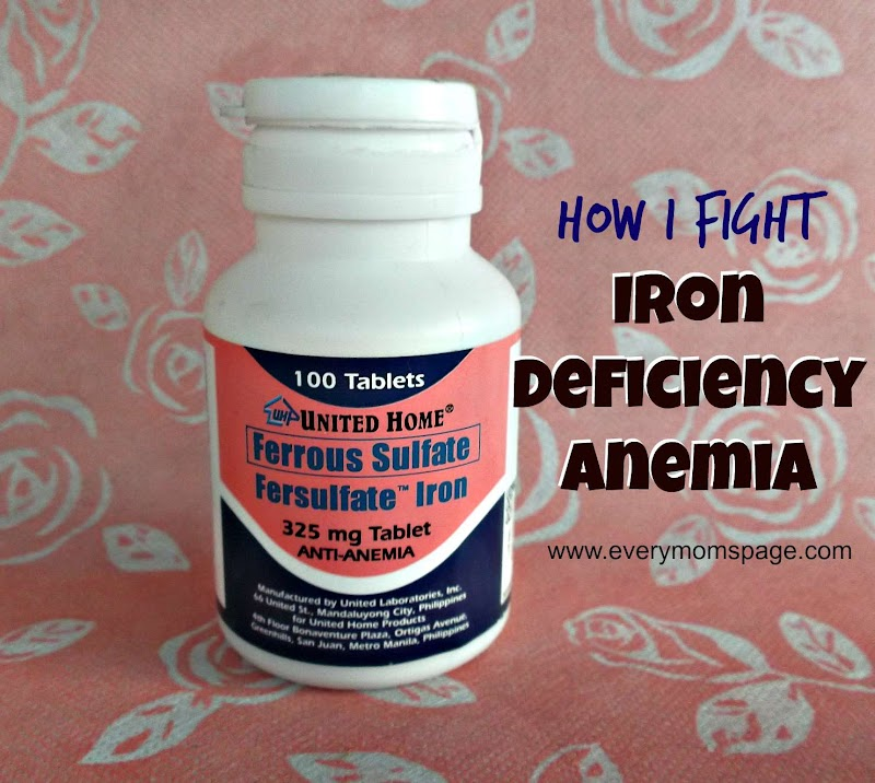 My Most Trusted Food Supplement to Fight Iron Deficiency Anemia #Unilab