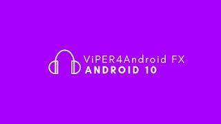 Download ViperFX Untuk Android 10 Q