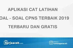 Aplikasi CAT Materi Soal CPNS  TKD Terbaik 2019 Gratis Terbaru  Beserta Pembahasannya