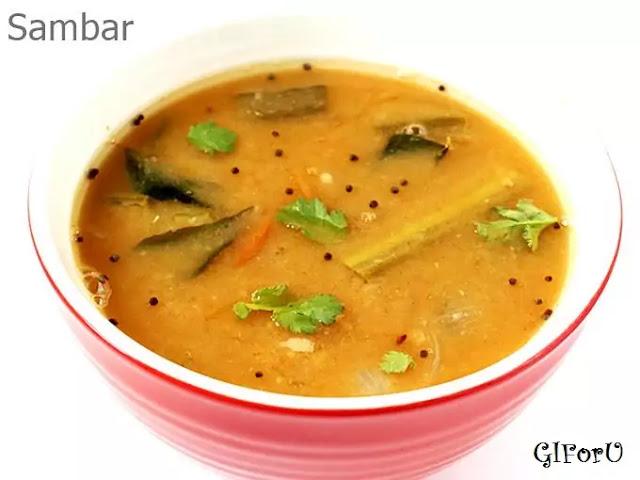 sambar recipe-How to make sambar recipe at GIforU