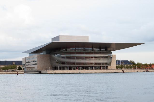 Crociera sui canali di Copenhagen-Teatro dell'Opera