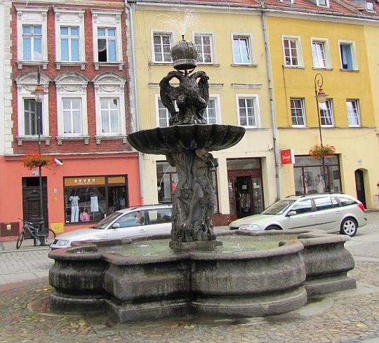 Barokowa fontanna.