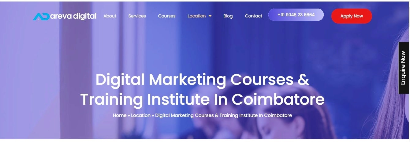 areva digital digital marketing institute