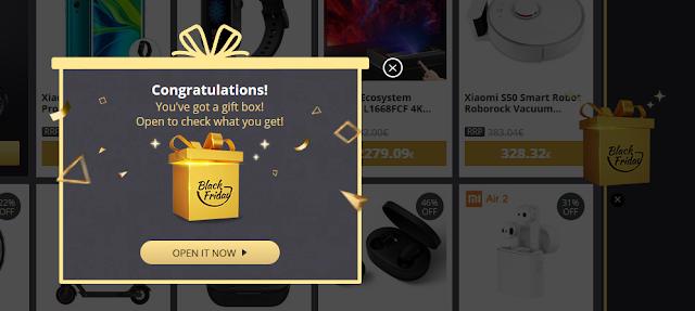 Desbloqueia Gift Boxs que há no Site