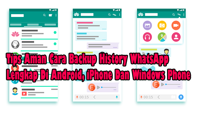 cara mengembalikan chat wa,cara restore chat wa,cara back up chat wa,android,iphone,windows phone,cara cadangkan chat wa,whatsapp,