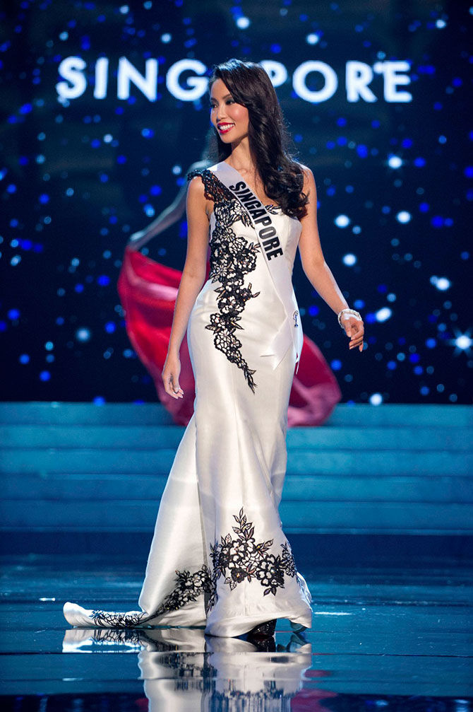 Lynn Tan, one of the 70 Finalists for the 2012 Miss Universe Competition.