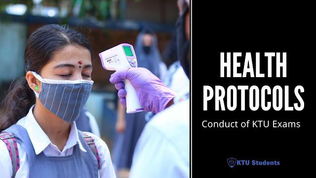 ktu exam covid health protocols