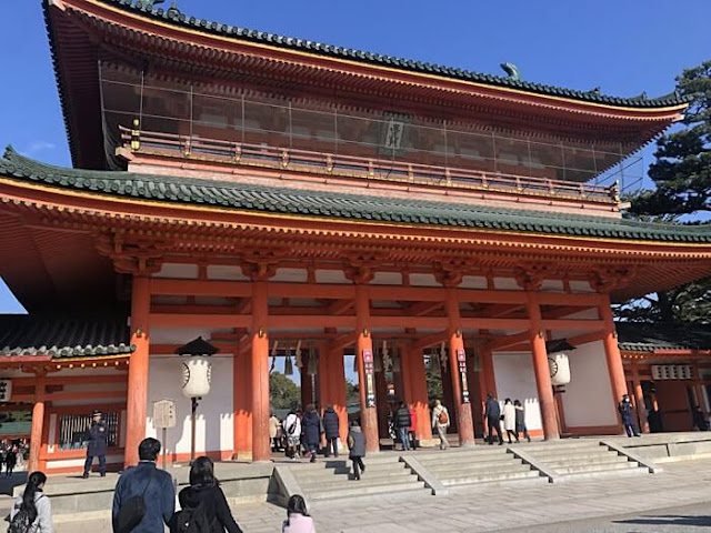 平安神宮初詣