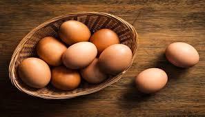 البيض الطازج