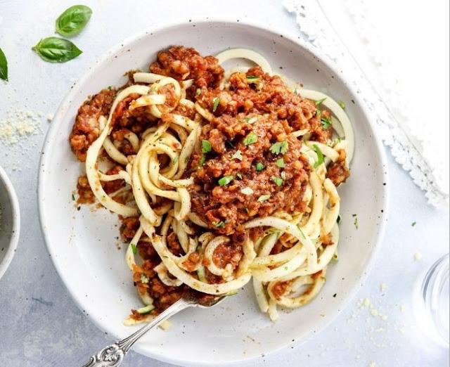Lentil Bolognese #vegetarian #dinner