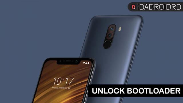 Cara mudah Unlock Bootloader Xiaomi Pocophone F1