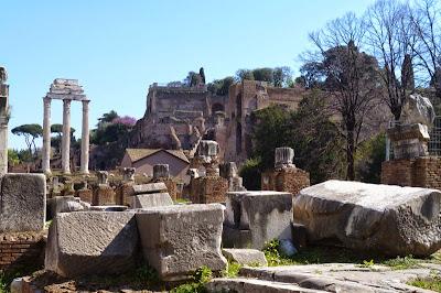 Castor Pollux - 23 Monumentos do Fórum Romano