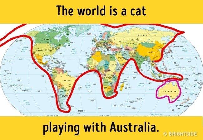 Những bản đồ ấn tượng về thế giới có thể bạn chưa từng nhìn thấy trong sách vở