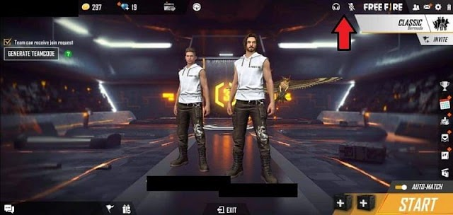 How to use voice chat in Free Fire