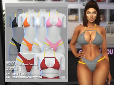I ME Bikini Set for The Sims 4