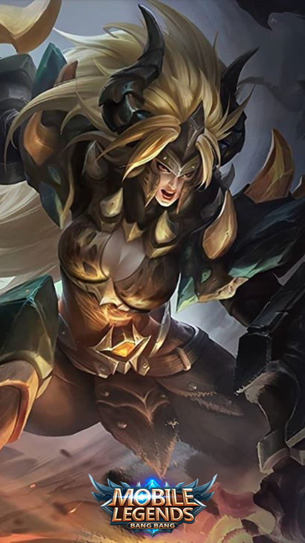Wallpaper Masha Dragon Armor Skin Mobile Legends HD for Android and iOS