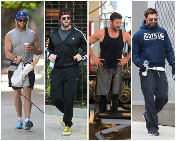 9f3b7eb1e Wolverine mostrando o que é roupa de malhar