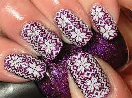 Uñas para la Navidad - nails for Christmas