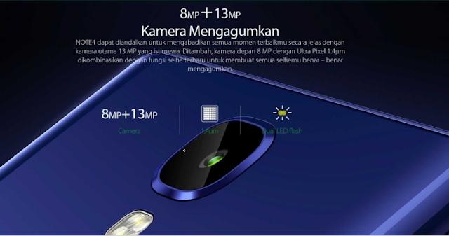 kamera infinix Note 4