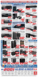 2001 Audio Video Weekly Flyer February 9 to 15, 2018
