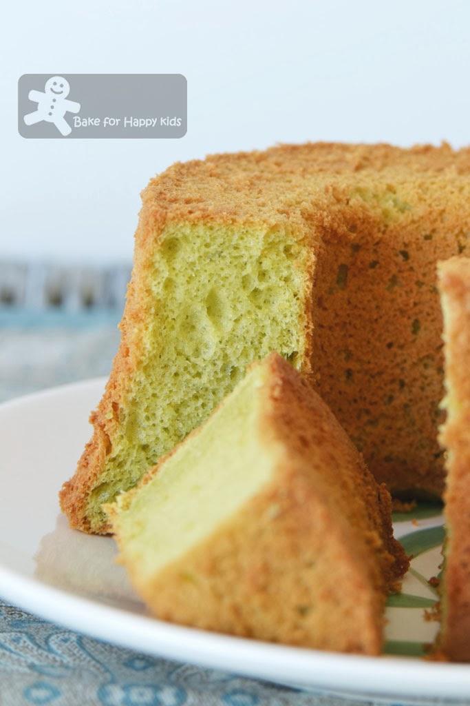 pandan chiffon cake cooked dough tang mian