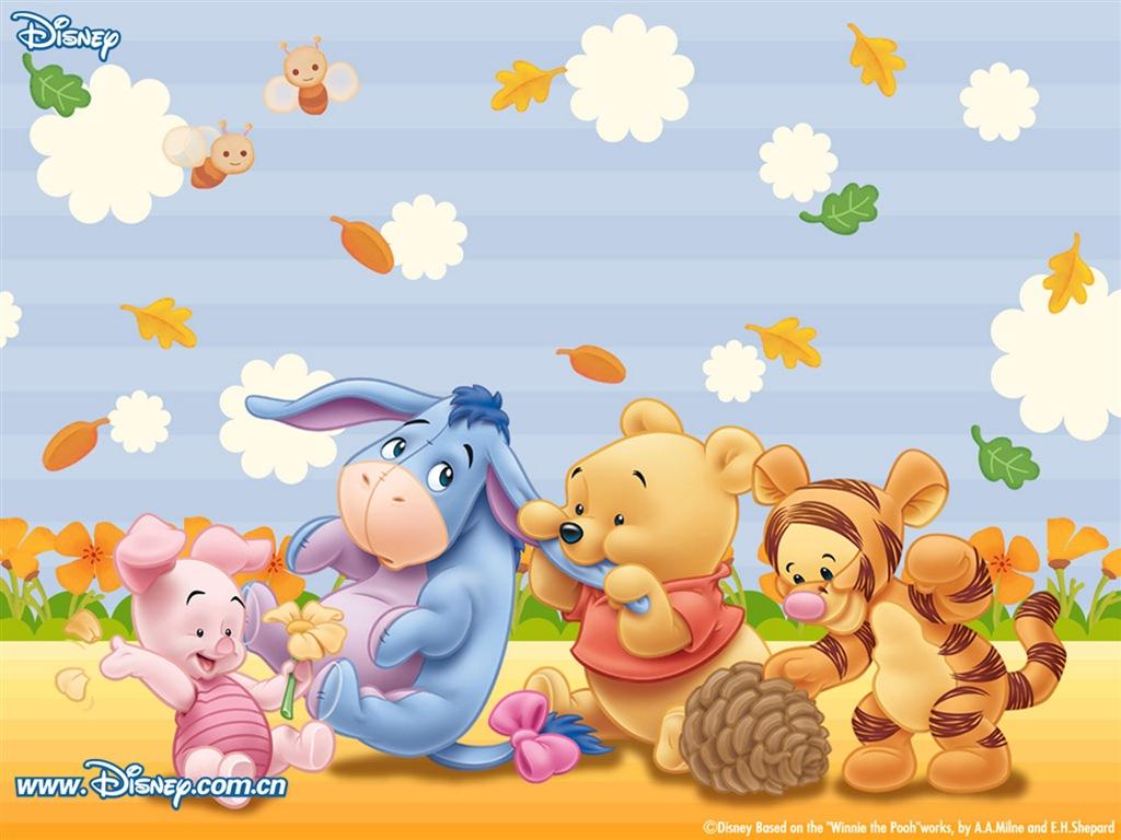 lightthem: 可愛圖案 Winnie the Pooh Wallpaper 1 小熊維尼電腦桌布 1