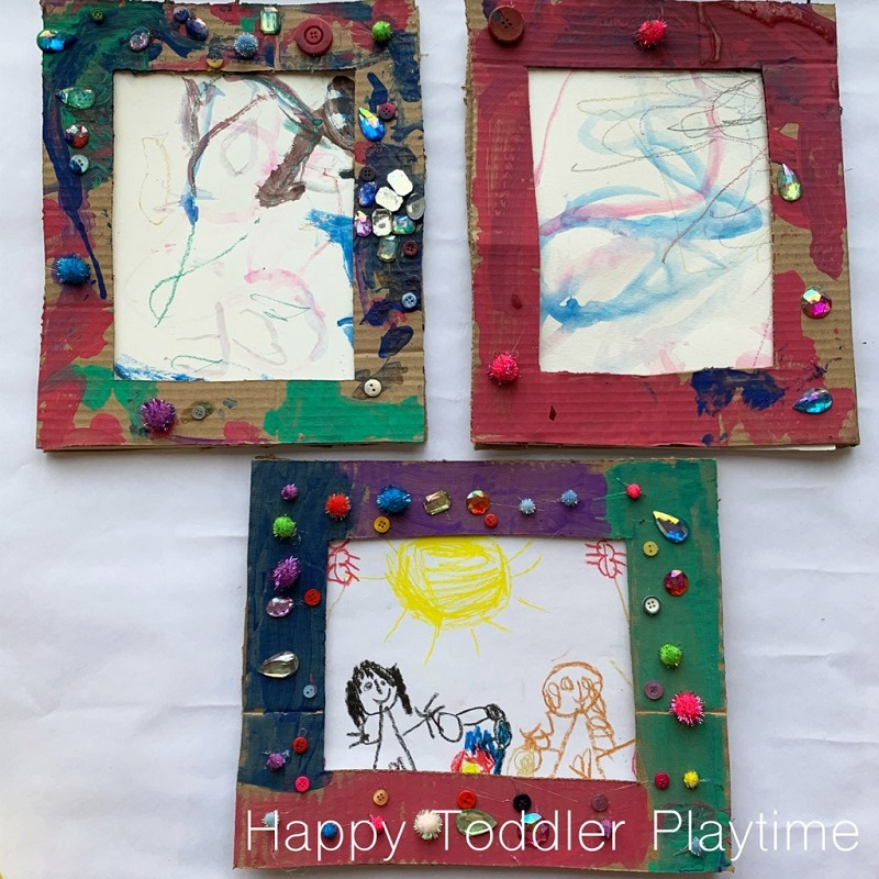 cardboard photo frames for mothers day