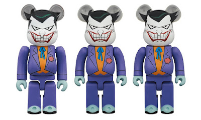 Batman: The Animated Series The Joker Be@rbrick Vinyl Figures by Medicom Toy