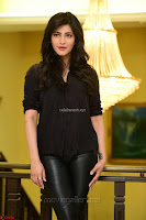 Shruti Haasan Looks Stunning trendy cool in Black relaxed Shirt and Tight Leather Pants ~ .com Exclusive Pics 080.jpg