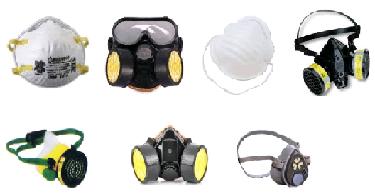 Alat Pelindung Diri [K3] Keselamatan Kerja Pelindung Hidung / Saluran Pernafasan