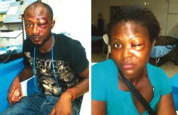 police officer attack lekki lagos