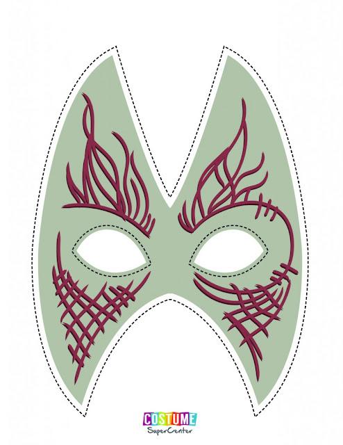Máscaras de Guardianes de la Galaxia para Imprimir Gratis.